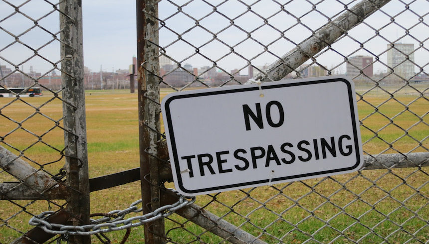 trespass, criminal trespass, property, land, house, crime, civil law, criminal law
